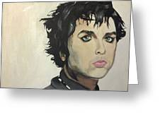 Billie Joe Armstrong Greeting Card by Willow Quillen