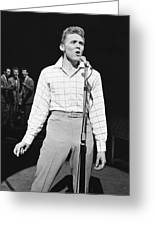 Billy Fury Greeting Card by Silver Screen