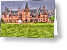 Biltmore Greeting Card by David Bearden
