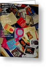 Binders Full Of Women Greeting Card by Perry Conley