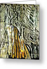 Birch Forest Greeting Card by Sarah Loft