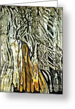 Birch Forest Greeting Card by Sarah Loft