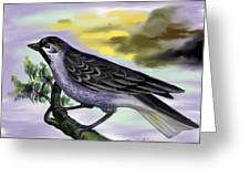 Bird Greeting Card by Twinfinger