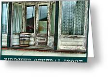Birdseye General Store Greeting Card by Julie Dant