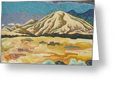 Birdseye Landscape #5 Greeting Card by Dale Beckman