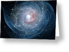 Birth Of A Galaxy Greeting Card by Gun Legler
