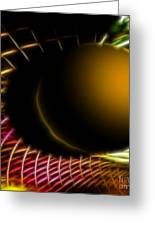 Black Hole Greeting Card by Cheryl Young