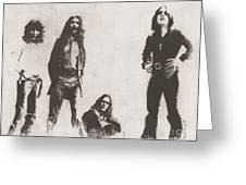 Black Sabbath Greeting Card by Jeff Ridlen