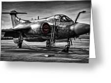Blackburn Buccaneer Greeting Card by Jason Green