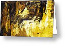 Blanchard Springs Caverns-arkansas Series 02 Greeting Card by David Allen Pierson