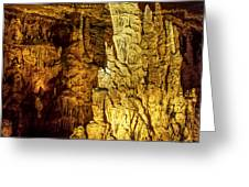 Blanchard Springs Caverns-arkansas Series 05 Greeting Card by David Allen Pierson