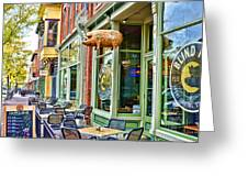 Blind Pig Greeting Card by Keith Ducker