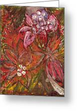 Blooming Season I Greeting Card by Anne-Elizabeth Whiteway