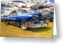 Blue Chevy Deluxe - Hdr Greeting Card by Phil 'motography' Clark