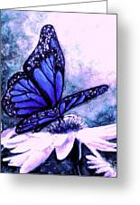 Blue Heaven Greeting Card by Hazel Holland