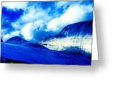 Blue Hudson Greeting Card by motography aka Phil Clark