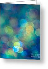 Blue Of The Night Greeting Card by Jan Bickerton