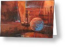 Blue Planet Greeting Card by Tom Shropshire