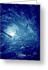 Blue Greeting Card by Richard Thomas