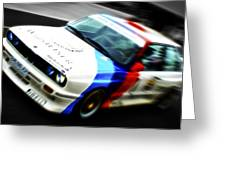Bmw E30 M3 Racer Greeting Card by Phil 'motography' Clark