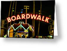 Boardwalk Greeting Card by Digital Kulprits