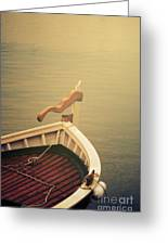 Boat Greeting Card by Jelena Jovanovic
