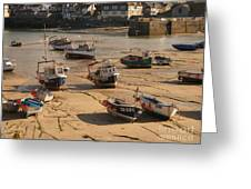 Boats On Beach 03 Greeting Card by Pixel Chimp