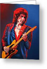 Bob Dylan Greeting Card by Paul Meijering