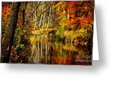 Bob's Creek Greeting Card by Lois Bryan