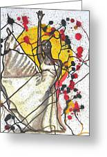 Body In Motion Greeting Card by Lamario Chez Jackson