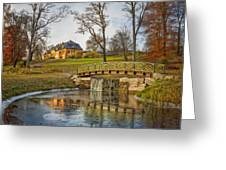 Bogstad Manor Greeting Card by Erik Brede