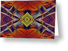 Boldness of Color Greeting Card by Deborah Benoit