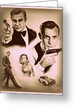 Bond The Golden Years Greeting Card by Andrew Read