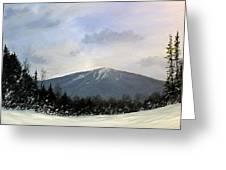 Bondville Vista Greeting Card by Ken Ahlering