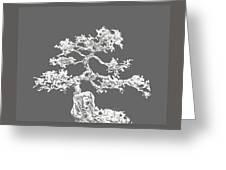 Bonsai II Greeting Card by Ann Powell