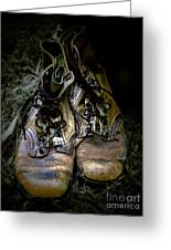 Boots That Grunt  Greeting Card by Steven  Digman