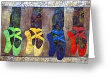 Born To Dance Greeting Card by Lynda K Boardman