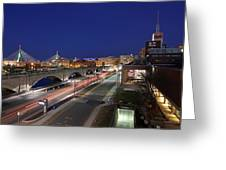 Boston Museum Of Science Greeting Card by Juergen Roth