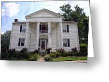 Bottom-mcafee-guthrie House - Perryville Ky Greeting Card by Thia Stover