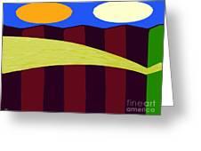 Bouncy Sunshine Greeting Card by Patrick J Murphy