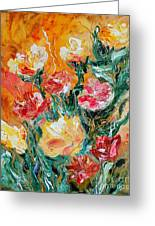 Bouquet Greeting Card by Teresa Wegrzyn