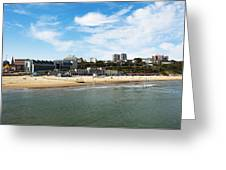 Bournemouth Bay Greeting Card by Svetlana Sewell
