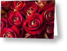Boutique Roses Greeting Card by Garry Gay