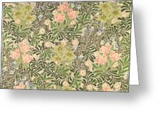 Bower Design Greeting Card by William Morris
