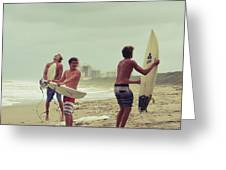 boys of summer Greeting Card by Laura  Fasulo