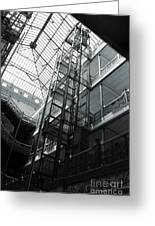Bradbury Building Greeting Card by Gregory Dyer