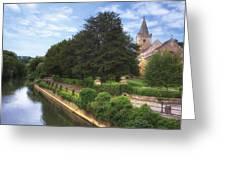 Bradford On Avon Greeting Card by Joana Kruse