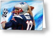 Brady Greeting Card by Lourry Legarde