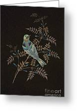 Bramble Finch-4 Photoart Greeting Card by Becky Hayes