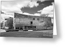 Brandeis University Shapiro Campus Center Greeting Card by University Icons